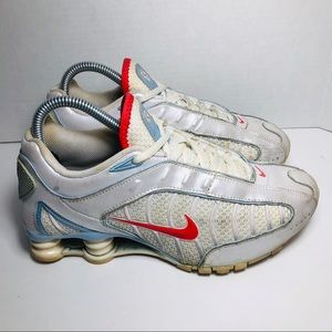 Nike Shox Turbo Women's Sz 7.5 Sunburst White
